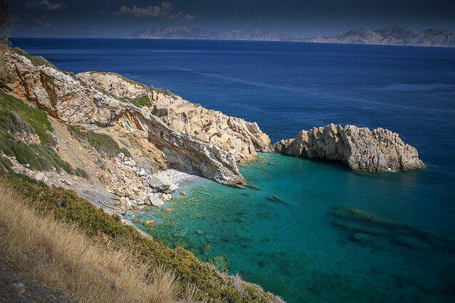 Spiaggia dell'isola di Ikaria