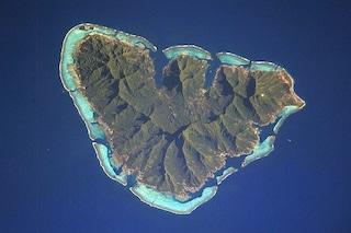 Moorea, un'isola a forma di cuore