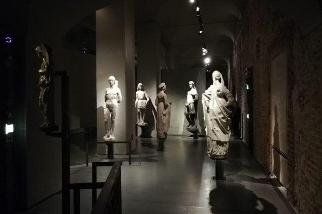 Una suggestiva sala del Museo del Duomo di Milano