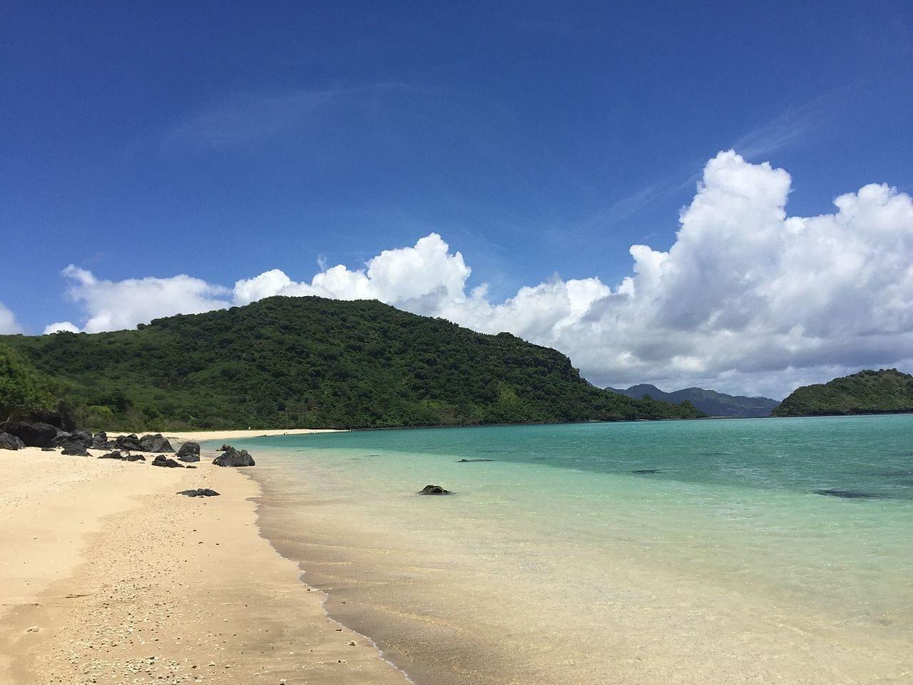 spiaggia di Mayotte