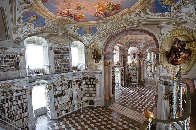 Biblioteca di Admont – Foto Wikimedia Commons