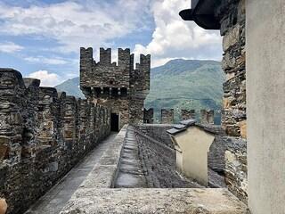 I tre castelli di Bellinzona: arte, storia e scorci panoramici