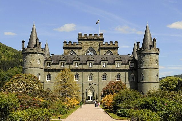 Castello di Inveraray – Foto Wikipedia