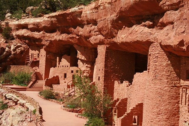 Manitou Cliff Dwellings – Foto Wikimedia Commons