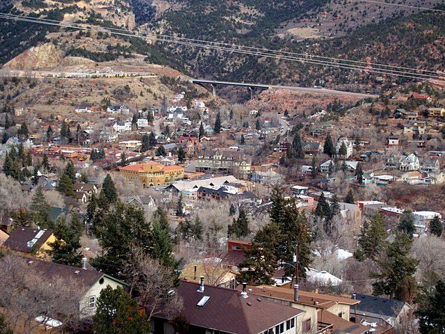 Veduta di Manitou Springs – Foto Wikipedia