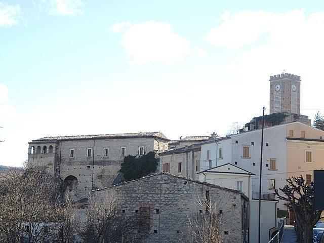 Palena, Castello Ducale – Foto Wikipedia