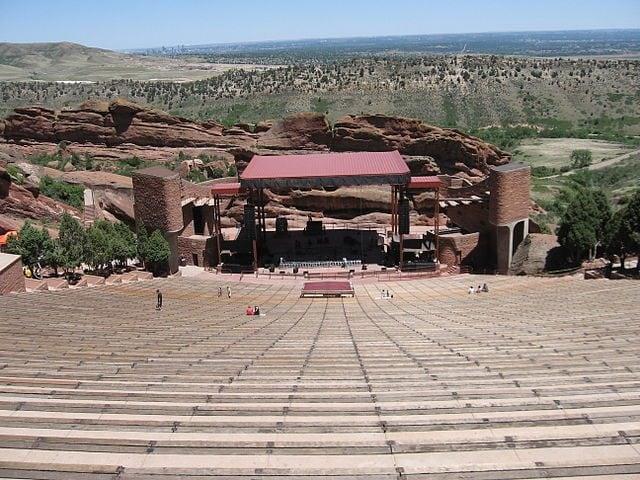 Red Rocks Amphiteater – Foto Wikimedia Commons