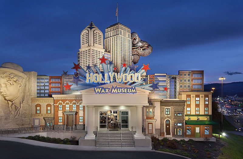 Hollywood Wax Museum a Pigeon Forge