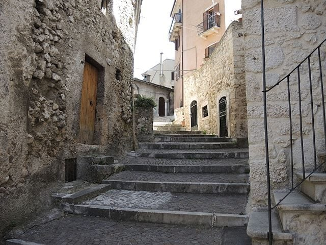Scorcio di Pettorano sul Gizio – Foto Wikipedia