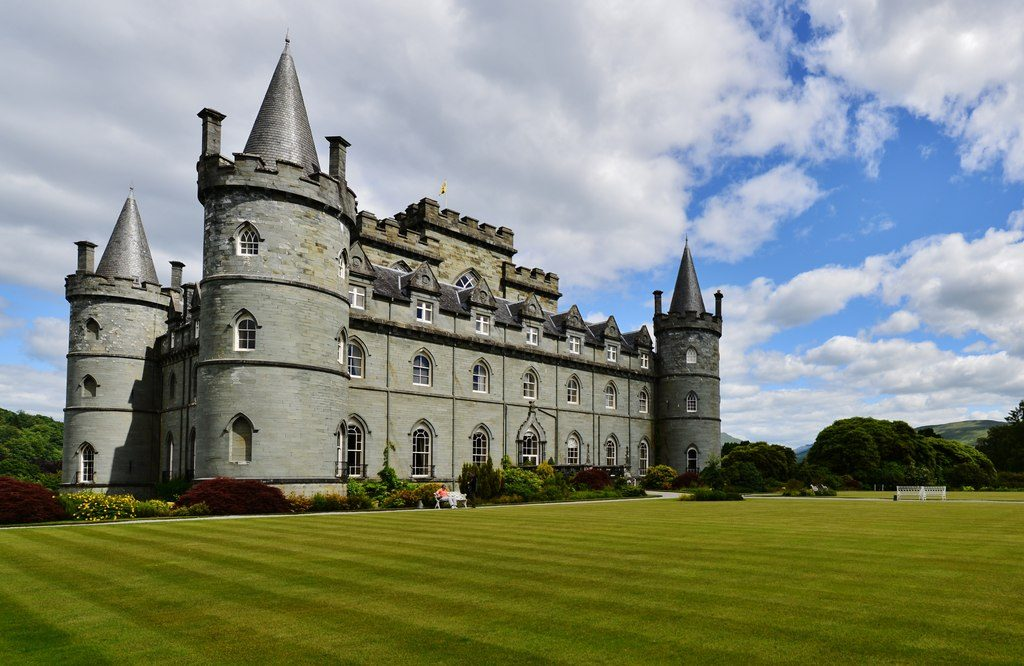 Inveraray Castle – Foto geograph.org.uk