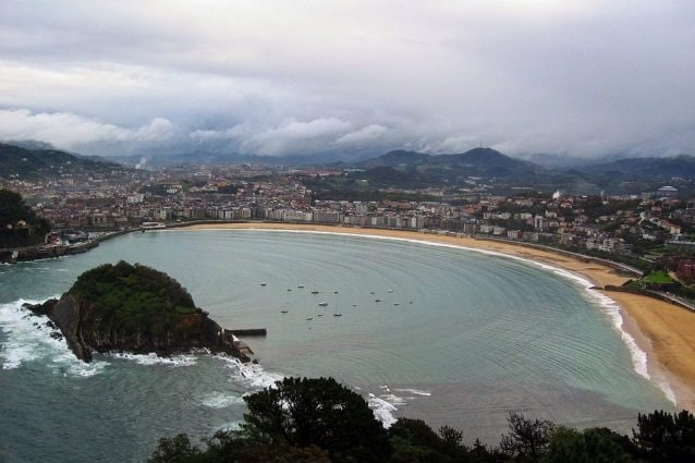 San Sebastian, spiaggia