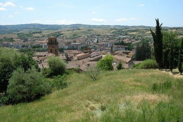 Veduta di Castelfiorentino