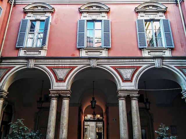 Cortile del museo – Foto Wikipedia