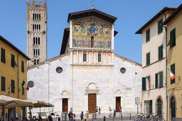 Lucca, Basilica di San Frediano – Foto Wikipedia