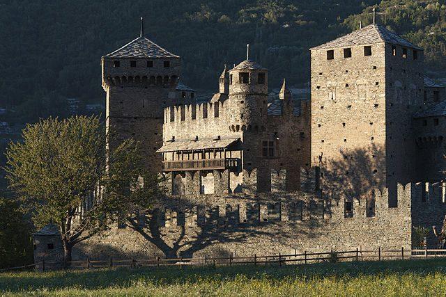 Castello di Fénis – Foto Wikipedia