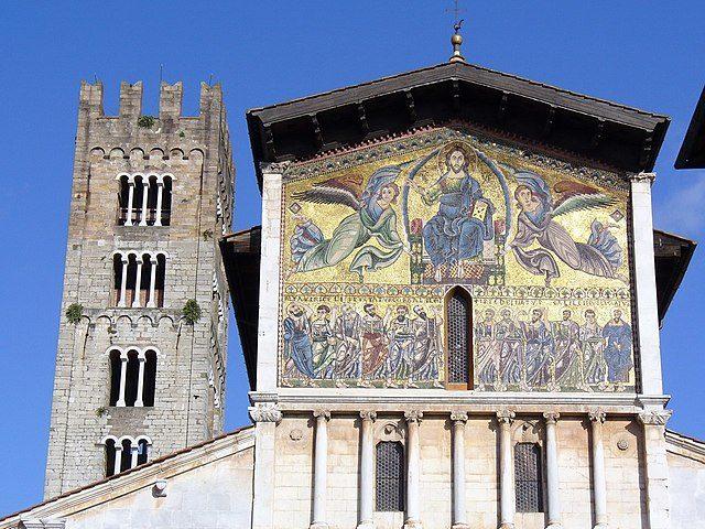 San Frediano, dettaglio della facciata – Foto Wikimedia Commons