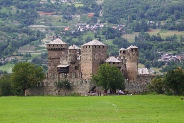 Castello di Fénis – Foto Wikimedia Commons