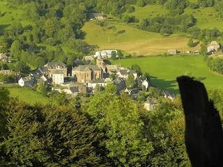 Le Falgoux, un piccolo villaggio nel verde incontaminato