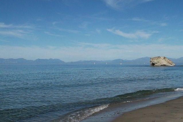 Spiaggia di Trentova ad Agropoli