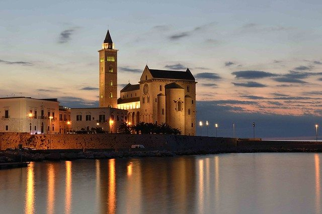 Cattedrale di Trani al tramonto – Foto di Gaetano Sabato
