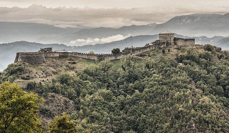 Fortezza Verrucole vista da Nord