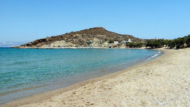 Molos beach, Paros