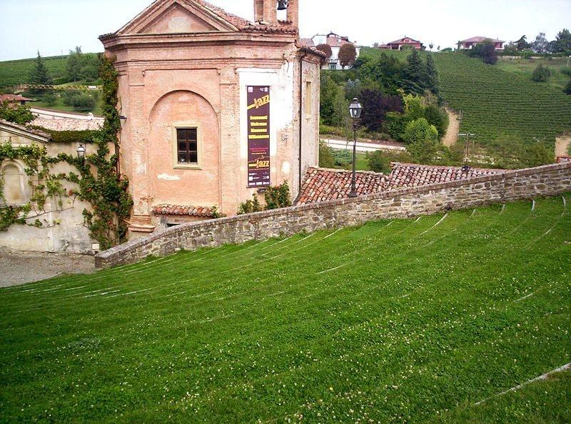 particolare anfiteatro di Monforte d'Alba