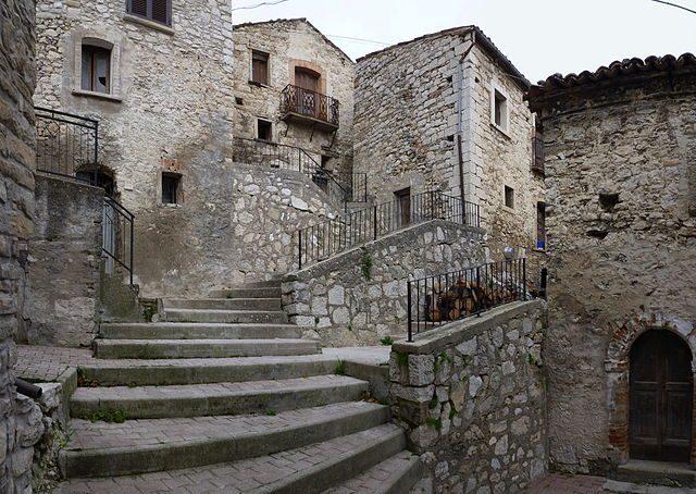 Centro storico di Montelapiano – Foto Wikipedia