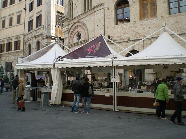 Stand di Eurochocolate – Foto Wikipedia