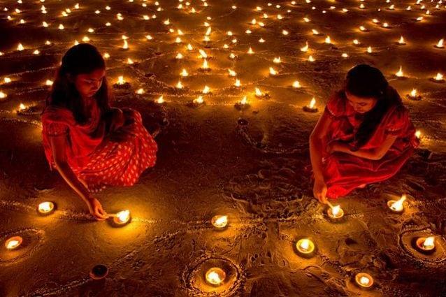 Diwali, il Festival delle Luci – Foto Wikimedia Commons