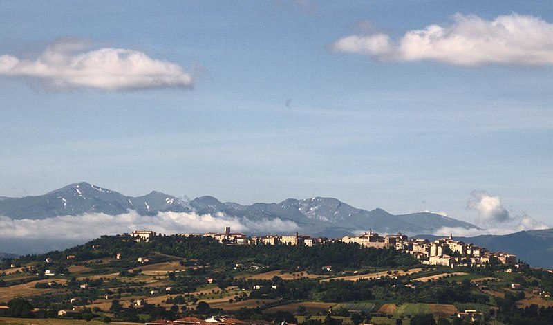 Panorama di Treia