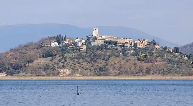 San Savino sul Trasimeno, nel comune di Magione