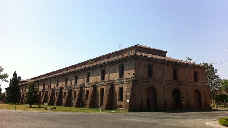 particolare interno Cittadella di Alessandria
