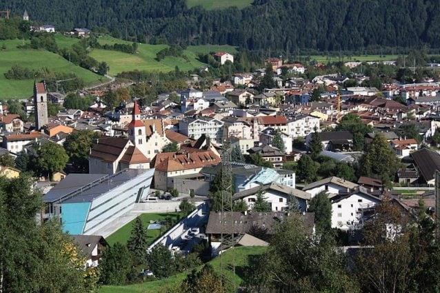 Vista sulla cittadina di Vipiteno