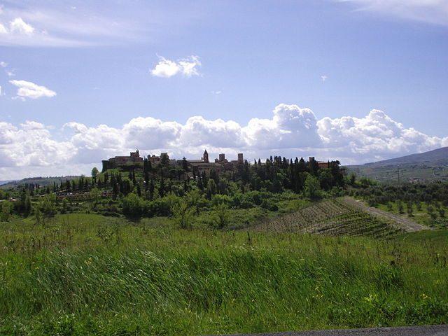 Certaldo Alto, panorama – Foto Wikipedia