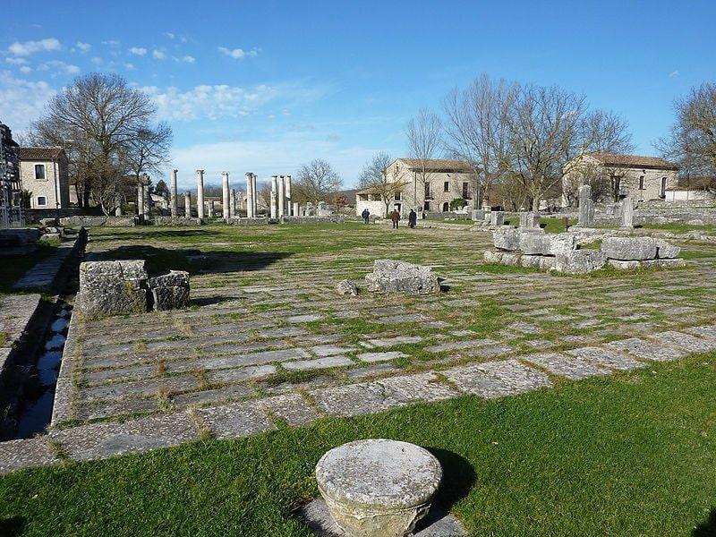 Altilia-Saepinum, area archeologica di Sepino