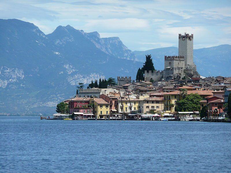 Malcesine, borgo sul lago di Garda