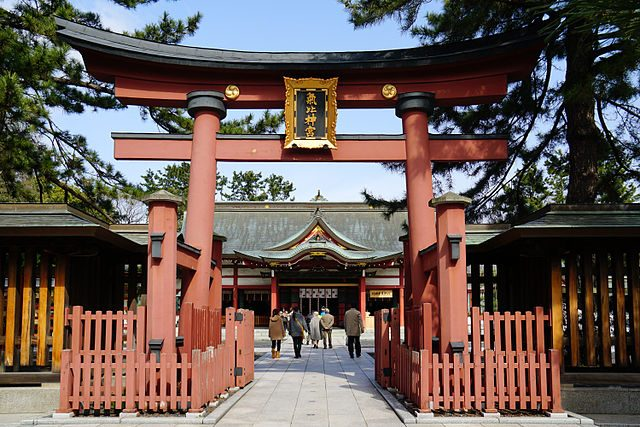 Santuario Kehi Jingu – Foto Wikimedia Commons