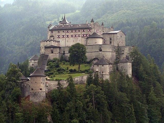 Castello di Hohenwerfen – Foto Wikipedia