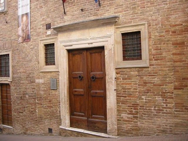 Urbino, Casa di Raffaello – Foto Wikimedia Commons