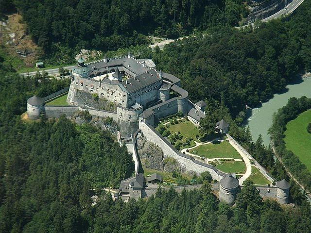 Fortezza di Hohenwerfen – Foto Wikipedia