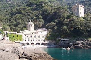 L'inaccessibile Abbazia di San Fruttuoso in Liguria