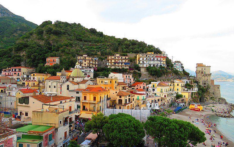 Panorama di Cetara, Campania