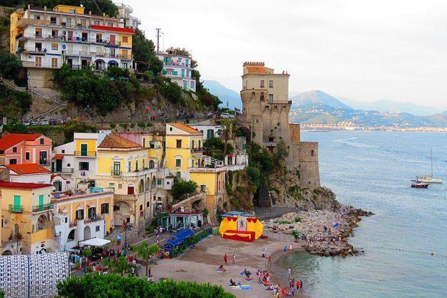 Torre di Cetara, in Campania