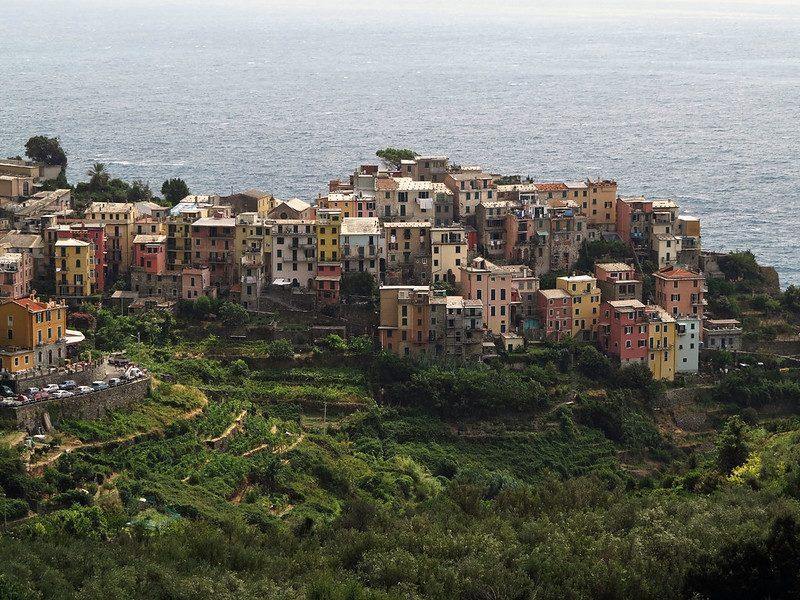Visto dal sentiero tra Corniglia e Vernazza, Cinque Terre