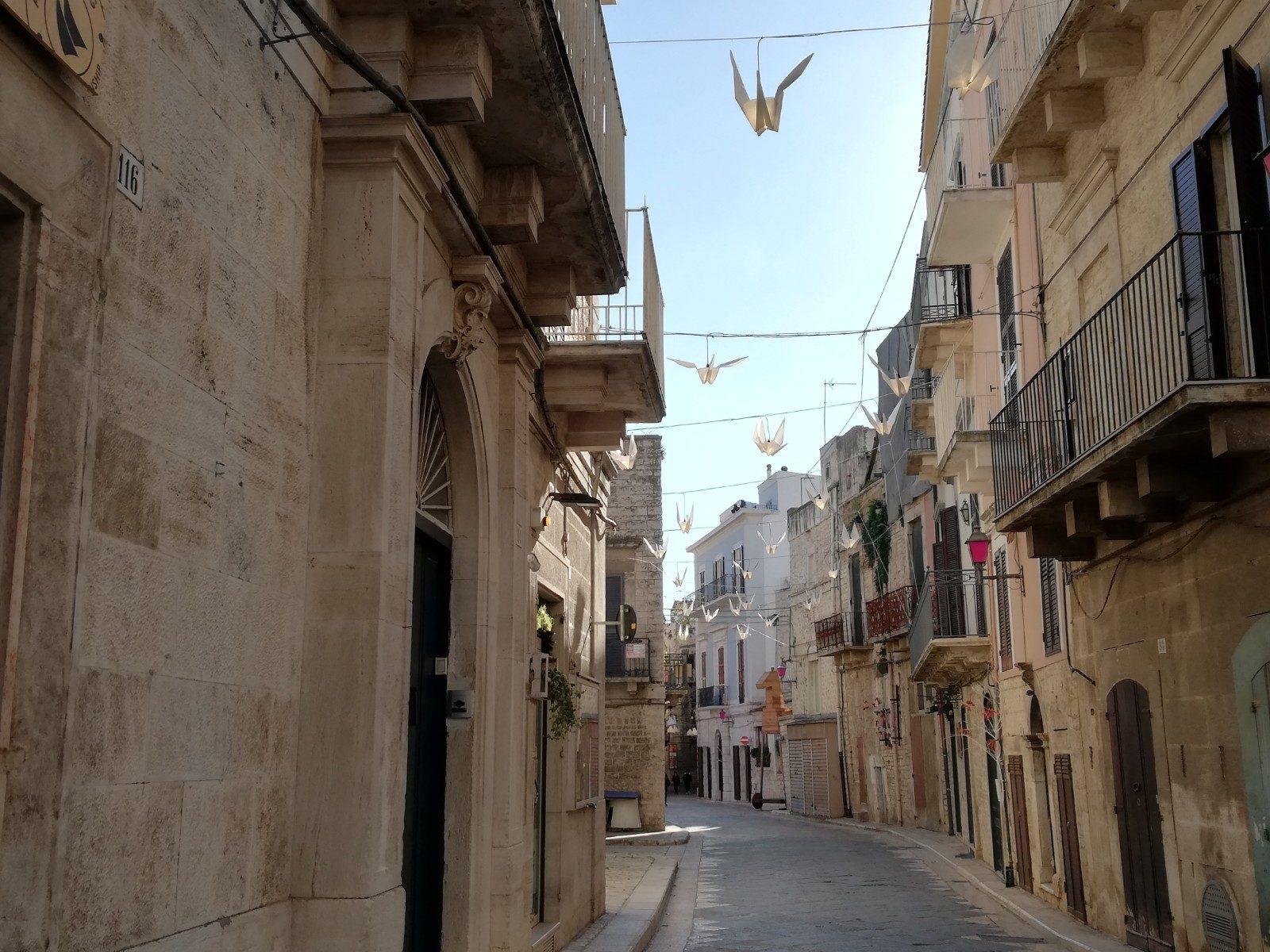 Uno scorcio del borgo antico di Ruvo di Puglia