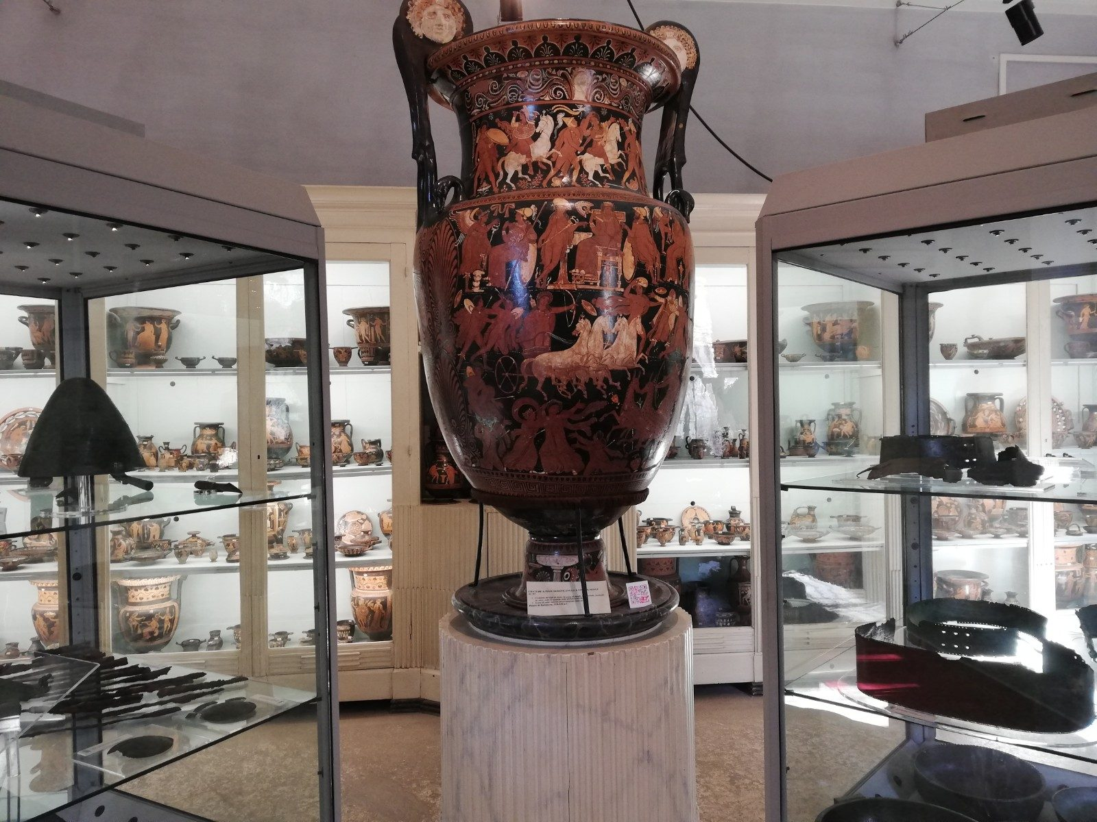 Reperti del Museo Archeologico Jatta