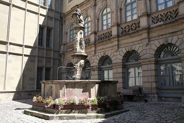 Particolare del Castello di Ehrenburg – Foto Wikipedia