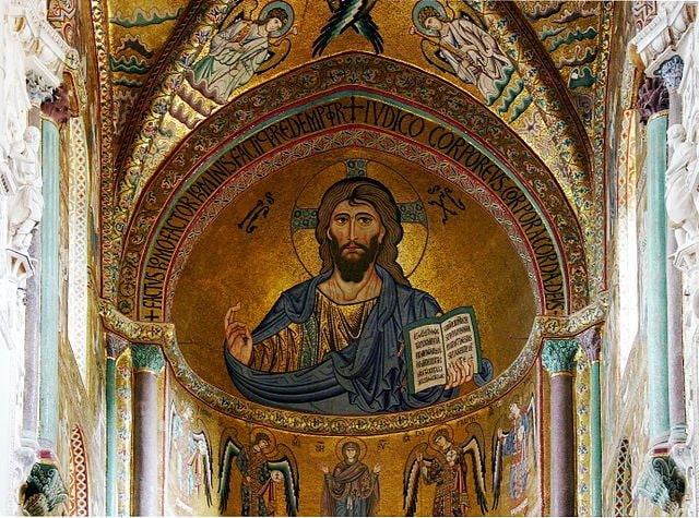 Cristo Pantocratore – Foto Wikipedia