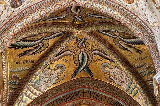 Mosaico delle volte con angeli – Foto Wikipedia